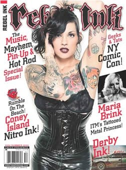 Rebel Ink magazine front cover