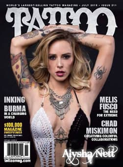 Tattoo magazine front cover