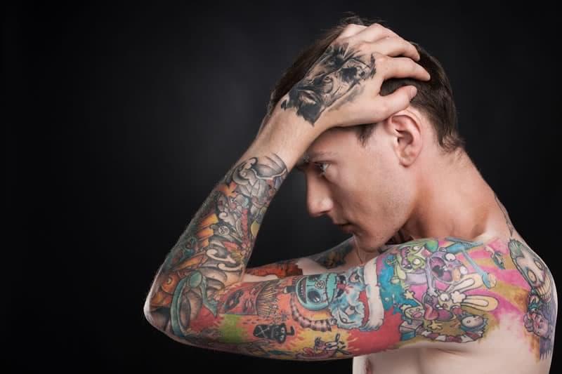 penis tattooed