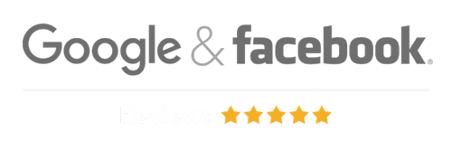 Andrea Catton Laser Clinic 5 star Google and Facebook Review badge