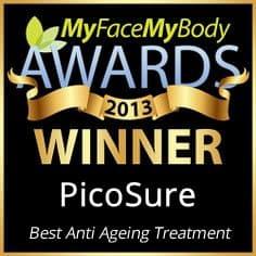 My Face My Body award picosure winner 2014