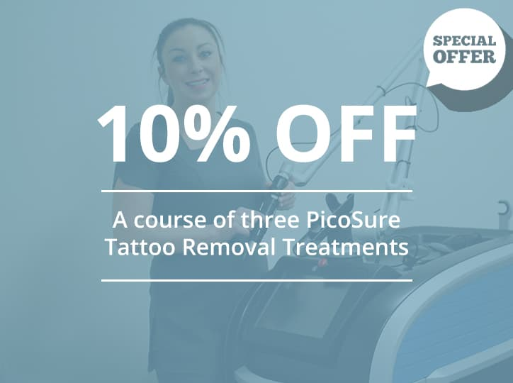 10% off picosure offer