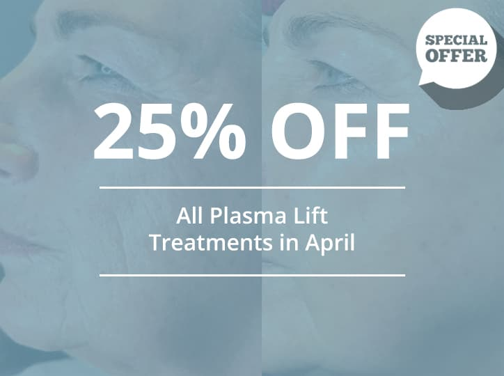 25% off plasma lift offer
