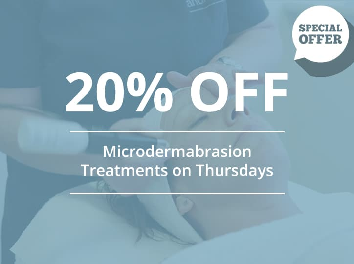 20% Off Microdermabrasion Treatments on Thursdays