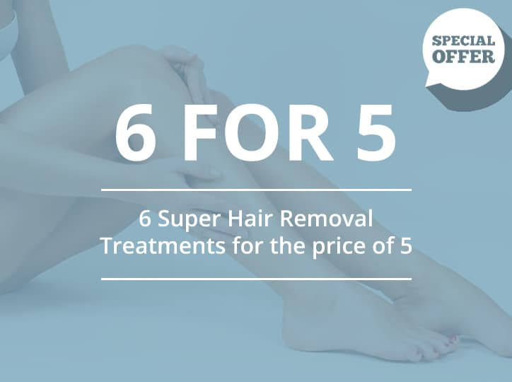 6 super hair removal treatments for 5